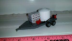 Details about 1/64 ERTL custom farm toy sprayer tender water trailer tank  pump reel roundup gr