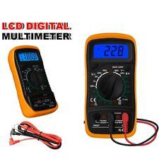 Lcd Digital Multimeter Automotive Acdc Voltmeter Current Meter Voltage Tester