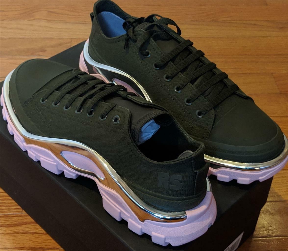 450 Raf Simmons for Adidas  Detroit  Runner Canvas scarpe da ginnastica Night Cargo US 10