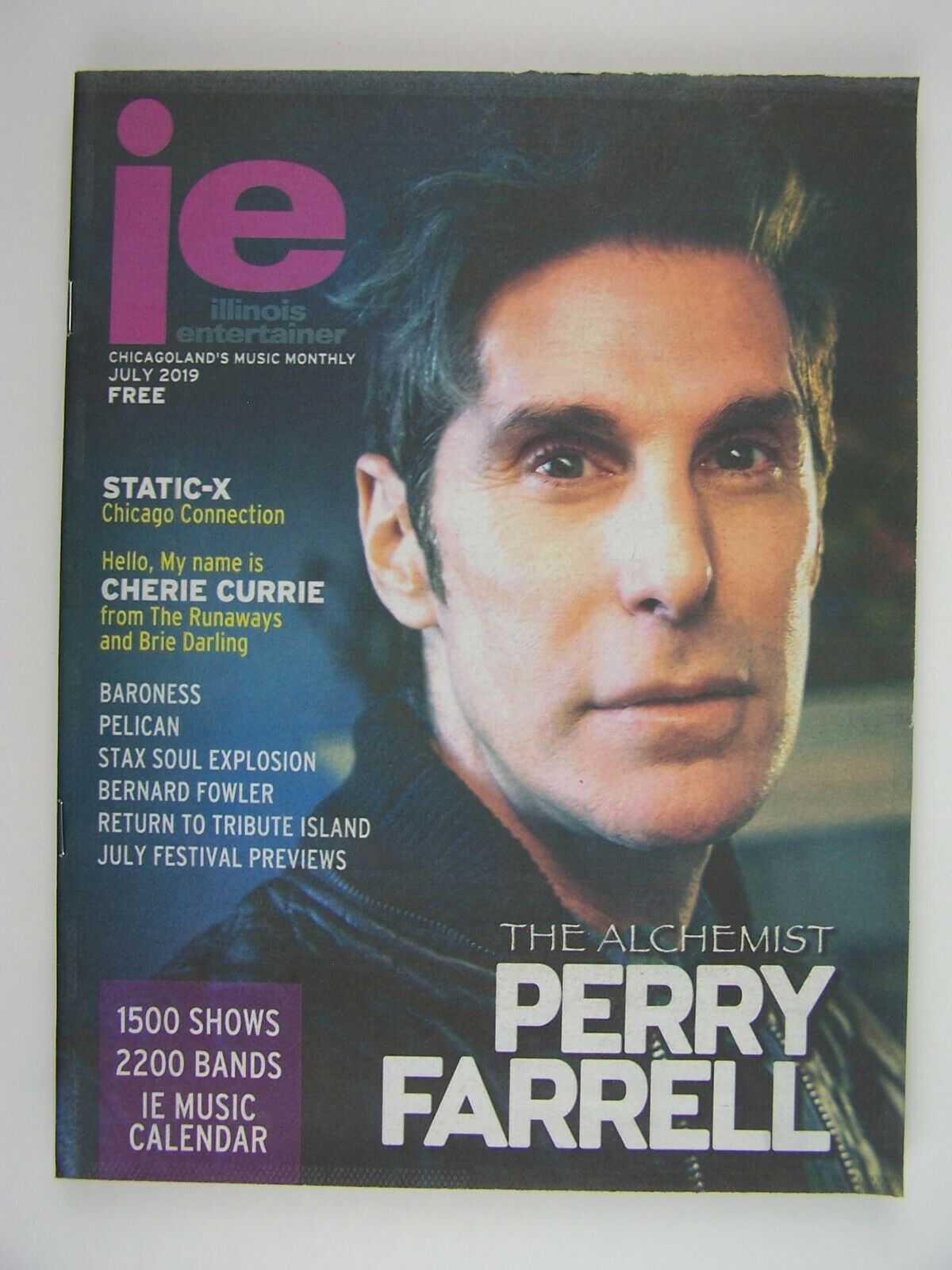 Illinois Entertainer July 2019 Perry Farrell, Static-X,