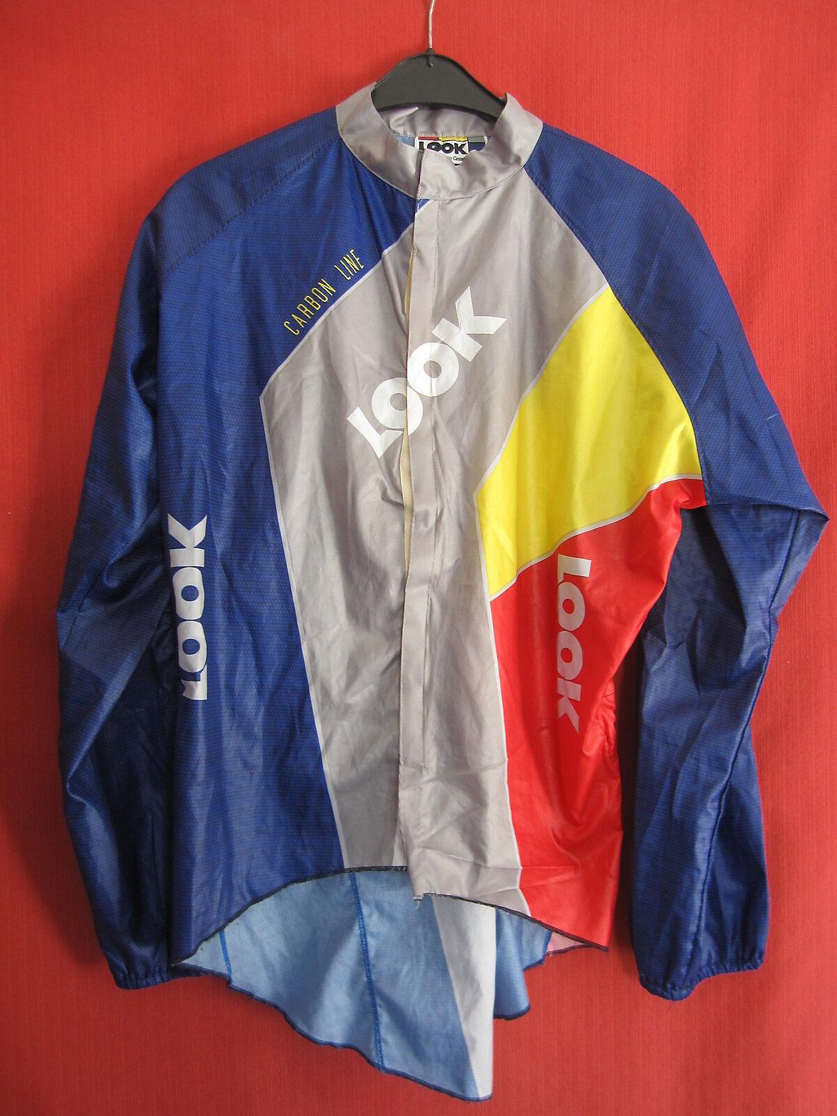 Veste coupe vent Carbon + pluie Vintage LOOK cycliste Carbon vent Line 90'S Rétro wind - XXL bf02cc