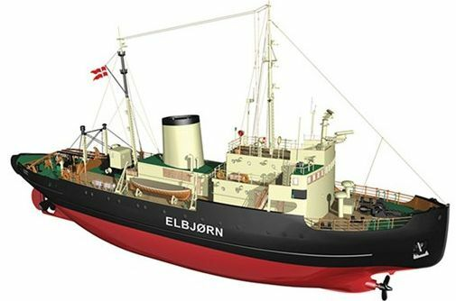 Billing Boats Elbjorn Icebreaker B536 Model Boat Kit