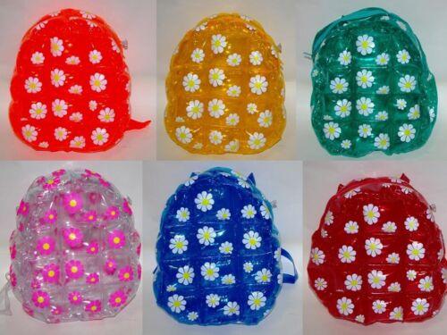 PVC Aufblasbar Rucksack mit Blume Dekorationen Daisy Taschen 28-96