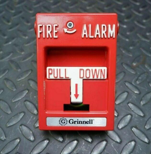 Grinnell Alarm Manual Lift  U0026 Pull Station