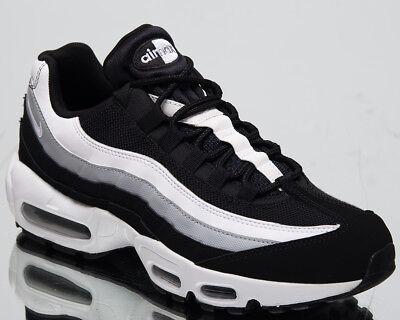 cheaper 7c0f7 e20a4 Nike Air Max 95 Essential Men's New Black White Grey Casual Sneakers  749766-038 | eBay