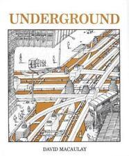 Underground by David Macaulay (1983, Paperback)