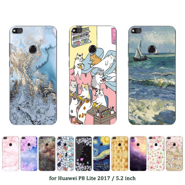 Soft TPU Case for Huawei P8 P9 P10 P20 Lite Plus 2017 P Smart Y6 Y9 Covers Star