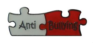 Anti Bullying Schools Pin Badge