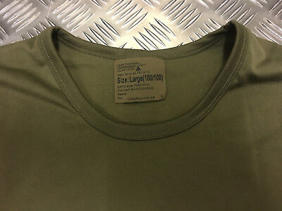 Genuine British Army Thermal All Sizes Winter Underwear Long Sleeve Top