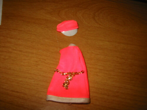 Dawn Doll, 2 Piece Outfit, Stewardess Jessica, Orange Dress and Hat
