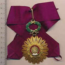 PERU Order of the SUN Medal COMMANDER Peruvian NECK badge Pérou ORDRE Sol LIMA