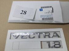 """Emblem Logo """"VECTRA 1.8 """" Opel VECTRA B 177221 original OPEL"""