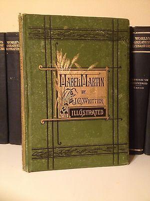 1876 Mabel Martin A Harvest Idyl By John Greenleaf Whittier Victorian Gilt Green