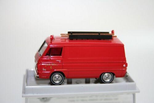 Brekina 93440 - 1/87 Dodge a 100 van-Fire Department-nuevo