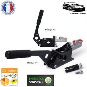 Freno-de-Mano-Hidraulico-2-Posiciones-en-Aluminio-Negro-Nissan-350Z-370Z