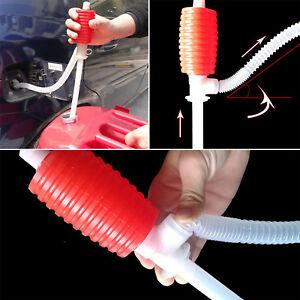 Handpumpe Siphonpumpe Manuell Saugpumpe Umfüllpumpe für Benzin Wasser Öl KFZ