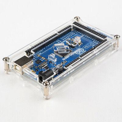 Sunfounder Mega 2560 Case Enclose Transparent Acrylic Box Compatible for Arduino