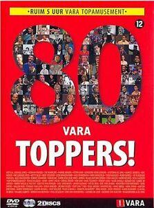 80 Vara Toppers   New 2-dvd in seal  ( pisa, One day fly,  Jeff van Oekel )