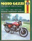 Moto Guzzi V-Twins Owner's Workshop Manual by Mansur Darlington (Paperback, 1988)