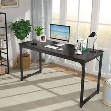 Gaming Computer Desk Study Workstation Office Desk Home Pc Laptop Table Black