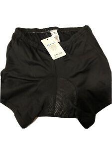 Men Women Cycling Shorts Bicycle Underwear Shorts w// Sponge Gel 3D Padded Small