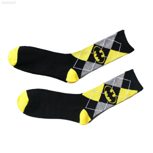 AD66 Unisex Batman Cotton Socks Design Multi-Color Dress Women/'s Men/'s Casual So