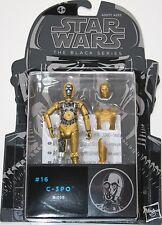 "Star Wars 3.75"" Black Series Figure - #16 C-3PO - Hasbro Original 2015 NEW"