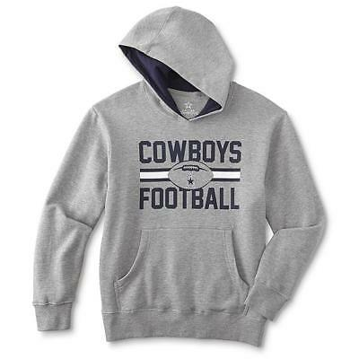 huge selection of 04917 7e068 NFL Dallas Cowboys Youth Boys Heather Gray Long Sleeve Pullover Sweatshirt  | eBay