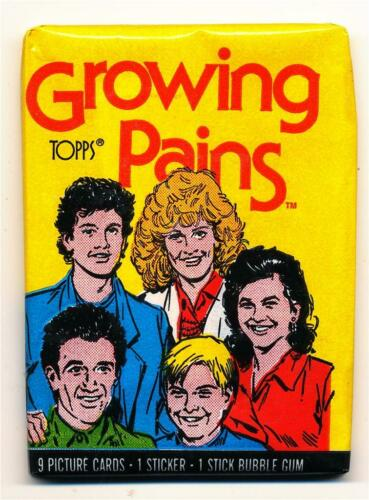 Growing Pains Trading Card Pack TV