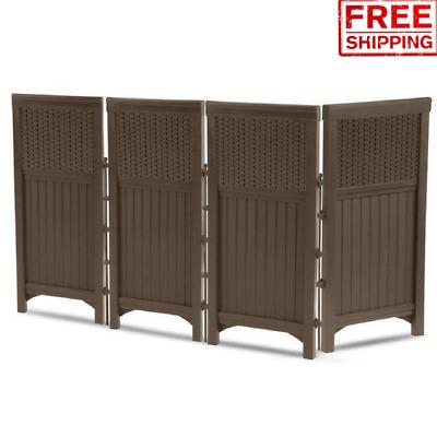 Ac Unit Cover Air Conditioner Enclosure Screen 4 Panel