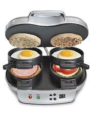 Hamilton Kitchen Panini Sandwich Maker Breakfast Toaster Griddle Press Dual NEW