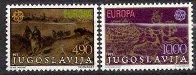 Postfrisch Von Der Konsumierenden öFfentlichkeit Hoch Gelobt Und GeschäTzt Zu Werden Energisch Jugoslawien Nr.1787/88 ** Europa Cept 1979