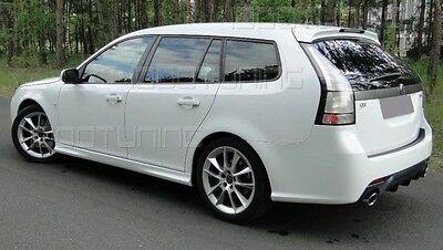 SAAB 9-3 Diffuser Rear Bumper Spoiler 2007-->
