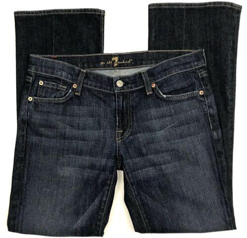7 hele Jeans For 30 Kvinders Denim Stretch Størrelse menneskeheden Bootcut 1a1rA