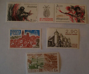 TIMBRES-LOT-1977-1981-1982