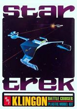 STAR TREK : KLINGON BATTLE CRUISER MODEL KIT WITH COLLECTORS TIN