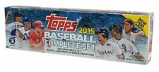 2015 Topps Complete 700 Card Baseball Factory Retail Set 5 Rookie Variations