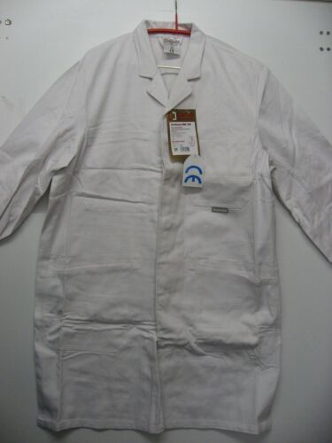Arbeits Kittel in Weiß PLANAM BW290 Berufsmantel Arbeitsmantel