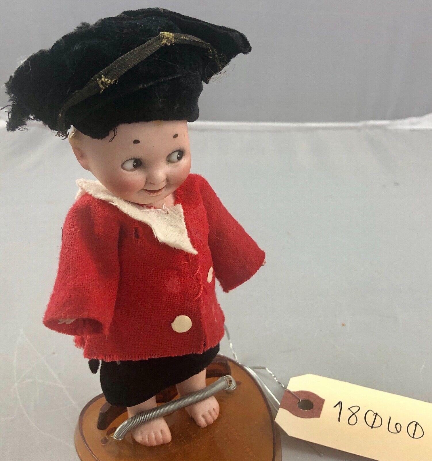 6 antico tedesco tutto Bisque Limbaugh GOOGLY bambola  RARO  Adorabile  18060