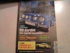 **c Retro viseur n°190 R8 Gordini / Porsche 911 Carrera RS 2.7 / Jaguar D