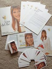 Eurovision 1996 Belgium Lisa de Bo Liefde is een Kaartspel promo press pack CD