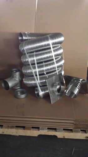 6 Inch X15 Ft Chimney Liner Kit NEW