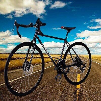 BlackAncheer 700C 54cm Aluminum Alloy Road/Commuter Bike Racing Bicycle 21 Speed