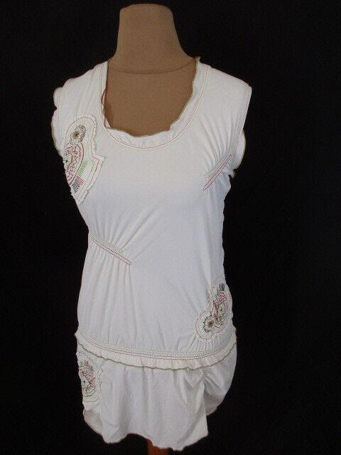 Robe GARELLA Weiß Größe 38 à - 72%