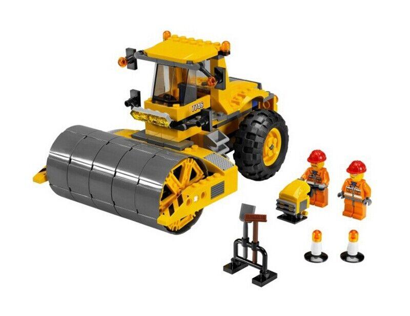 LEGO 7746 - Town  City  Construction - - - Single-Drum Roller - 2009 - NO BOX 27c7f4