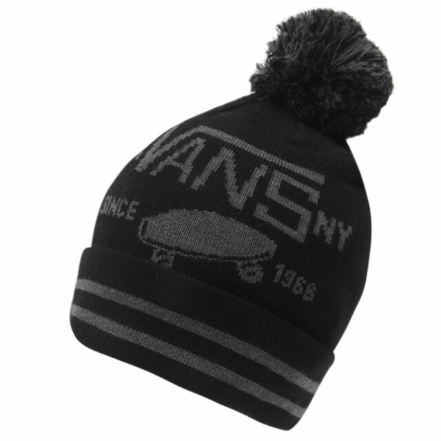 c4524bc95ef VANS 2019 Full Patch Pom Beanie 99 Black for sale online