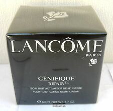 Lancome Genifique Youth Activating Night Cream 50ml - New -  Cellophane Sealed