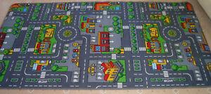 Extra-Grande-De-Carretera-coche-ciudad-Play-Mat-Alfombra-NUEVO