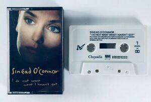 Sinead O'Connor - I Do Not Want What I Haven't Got (1990) Album Cassette Tape