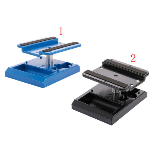 8 1:10 RC Car Truck Buggy Blue RC Repair Station Work Stand Tool for 1